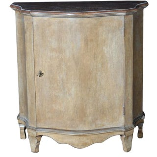 Italian Hand Painted Commode For Sale