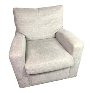 A. Rudin Lounge Swivel Chair Style #628 For Sale