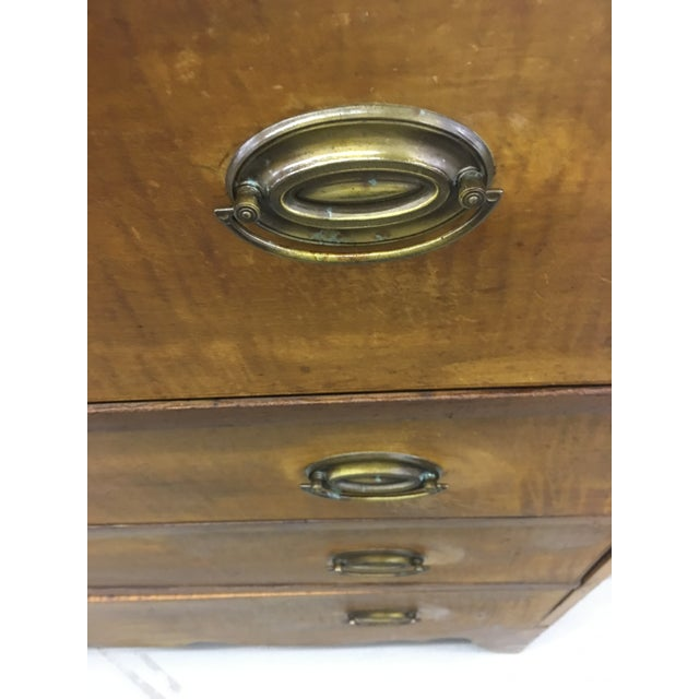 Traditional 19th Century English Antique Chest of Drawers For Sale - Image 3 of 8