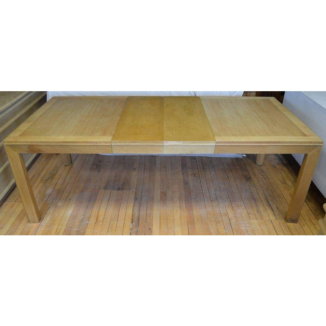Dining Table With Two Leaves Designed by Robsjohn-Gibbings for Widdicomb For Sale - Image 10 of 13