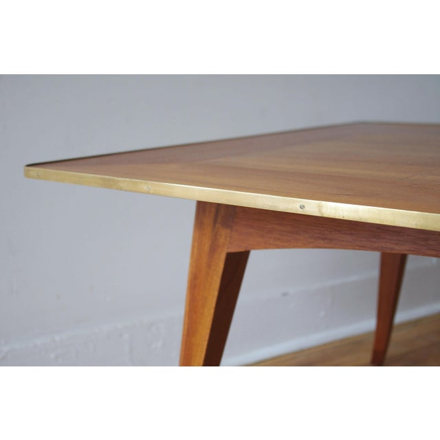 1950s Mahogany Cocktail Table by Edward Wormley for Dunbar For Sale - Image 5 of 7