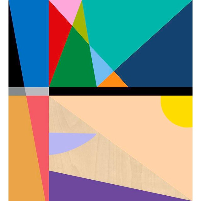 Abstract 19 Color Modern Abstract Fine Art Print by Tony Curry For Sale - Image 3 of 3