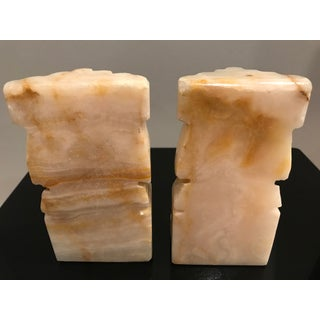 Vintage Handcrafted Marble Bookends - a Pair Preview