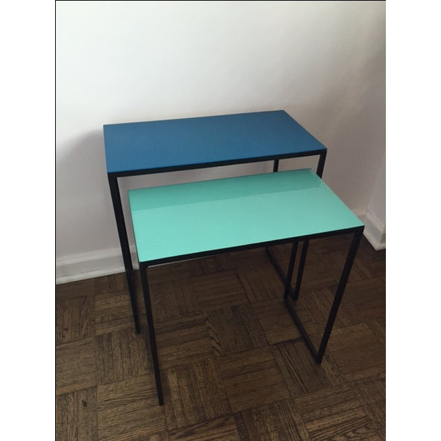 CB2 Nesting Tables Pair - Set of Two - Image 4 of 4