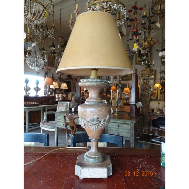 Italian 19th Century Pair of Lamps For Sale - Image 13 of 13