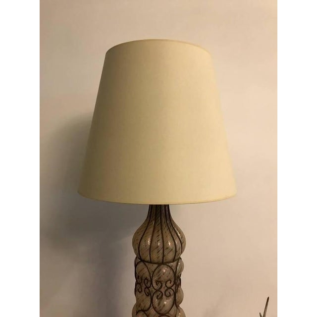 Italian Mid-Century Table Lamps - A Pair - Image 3 of 8