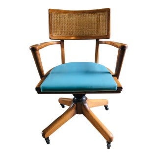 Mid Century Dennison Mfg Bankers Chair For Sale