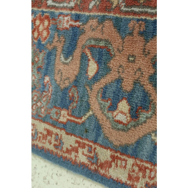 Karastan Approx 8 X 12 Ushak Colonial Williamsburg Rug For Sale - Image 9 of 13