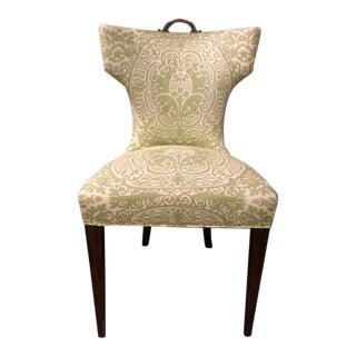 1980s Shabby Chic Palm Beach Fun & Flirty Chair For Sale