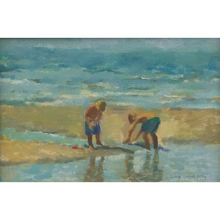 "Amy Griffith Colley ""Boys at the Beach 2"" Print For Sale"