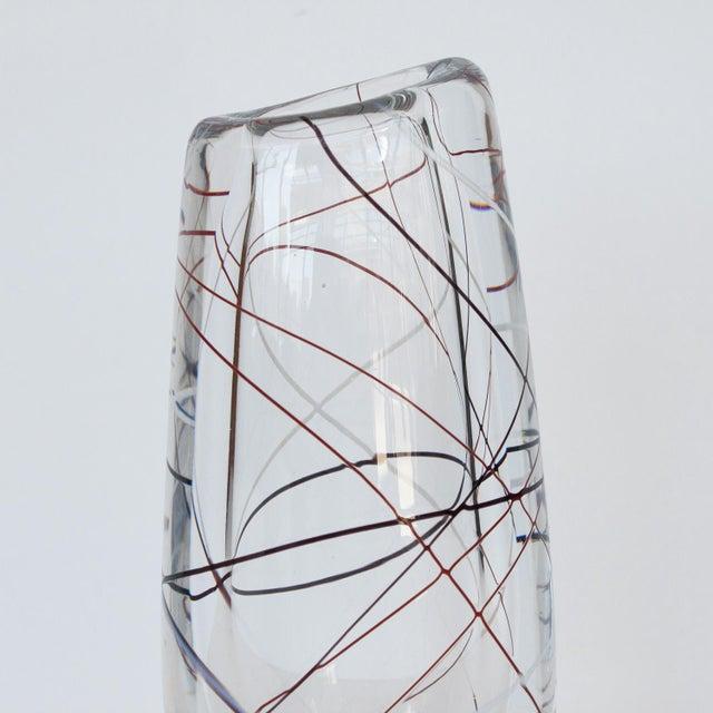 Vicke Lindstrand for Kosta Glass Vase - Image 6 of 9