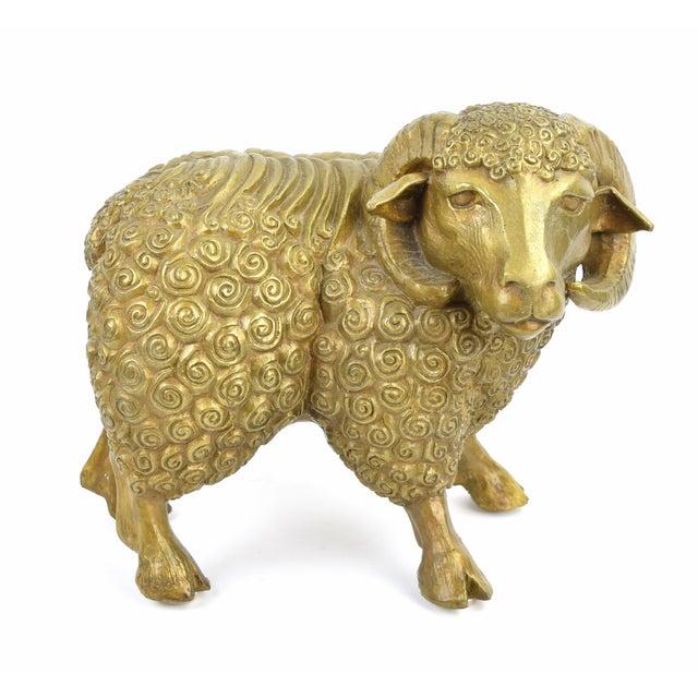 Bronze DaNisha Dan Ferguson Bronze Ram Sculpture Limited Edition of 25 For Sale - Image 8 of 8