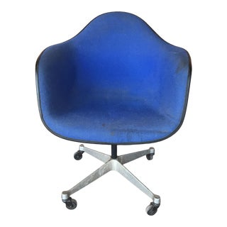 Blue Eames for Herman Miller Chair