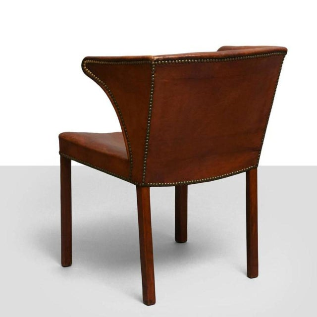 Mid-Century Modern Frits Henningsen Easy Chair For Sale - Image 3 of 8