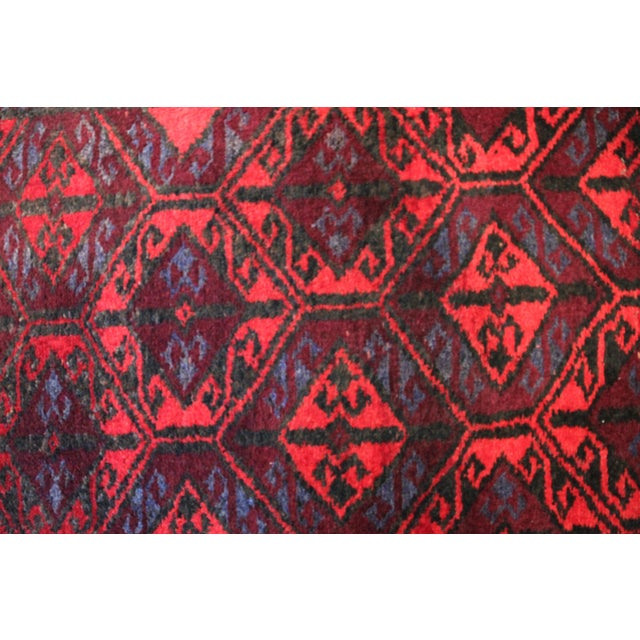 "1990s Antique Arak Wool Area Rug - 3'5"" x 6'8"" For Sale - Image 5 of 9"