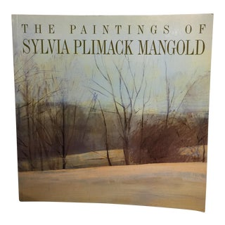 The Paintings of Sylvia Plimack Mangold, Softcover For Sale