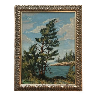 Original Peter Keil Realistic Painting Framed For Sale