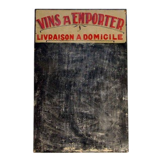 Vins a Emporter Wine Sign
