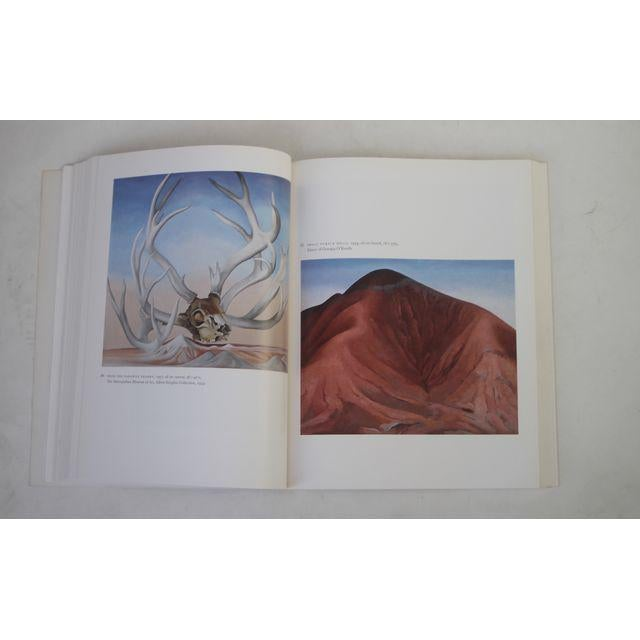 Georgia O'Keeffe Art and Letters Coffee Table Book For Sale In New York - Image 6 of 7