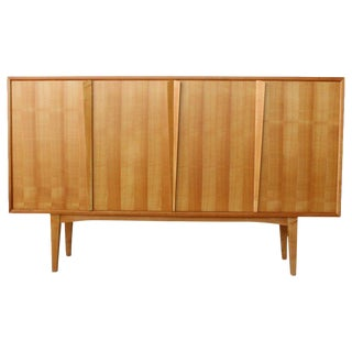 Maple Highboard Credenza, Germany, 1960s For Sale