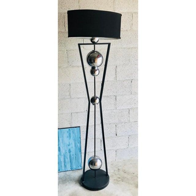 Brutalist Mid-Century Modern Style Floor Lamp For Sale - Image 3 of 12