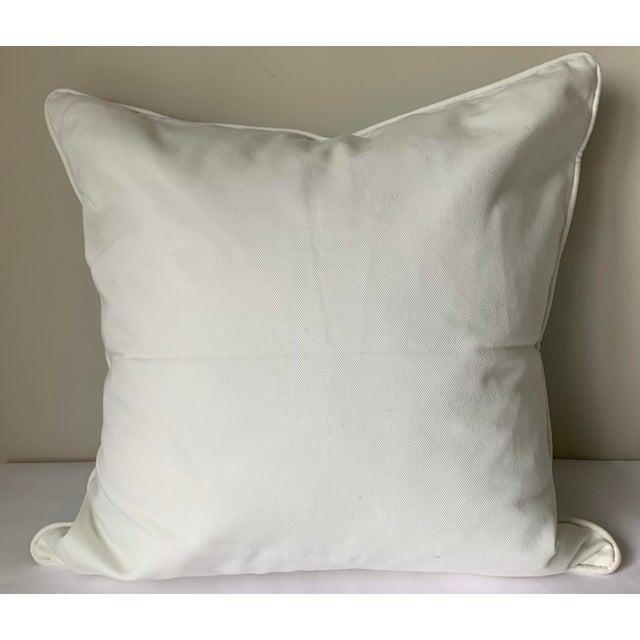 Pair of Paule Marrot Brunschwig Fils Custom Pillows For Sale - Image 10 of 13