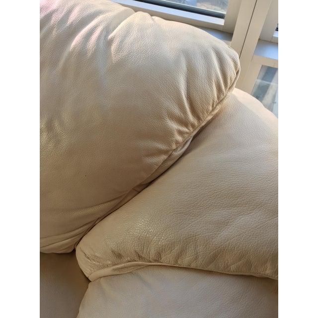 Natuzzi Italian Leather Sofa - Image 8 of 11
