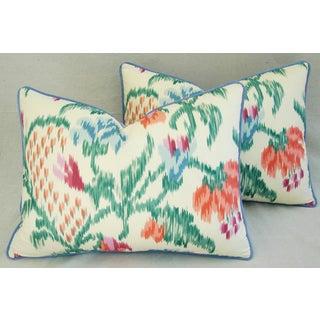 Custom Brunschwig & Fils Marly Pillows - A Pair Preview