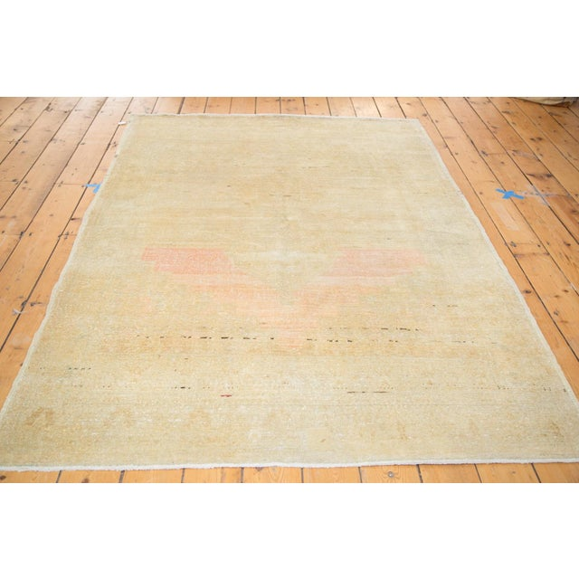 """Distressed Oushak Rug - 5' X 7'6"""" For Sale - Image 4 of 9"""