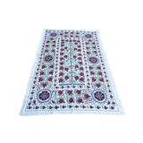 Image of Handmade Pomegranate Tree Desing Crochet Suzani Tapestry For Sale