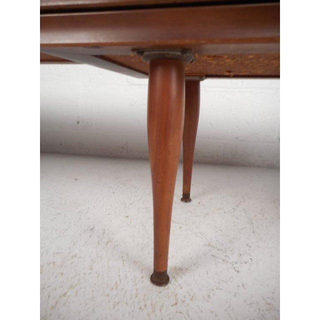 Mid-Century Modern Tile-Tip Pivot Coffee Table For Sale - Image 10 of 11
