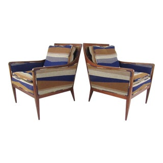 Pair Paul McCobb Lounge Chairs For Sale