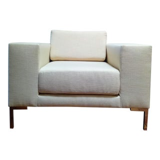 Modern Cream Lincoln Chair For Sale