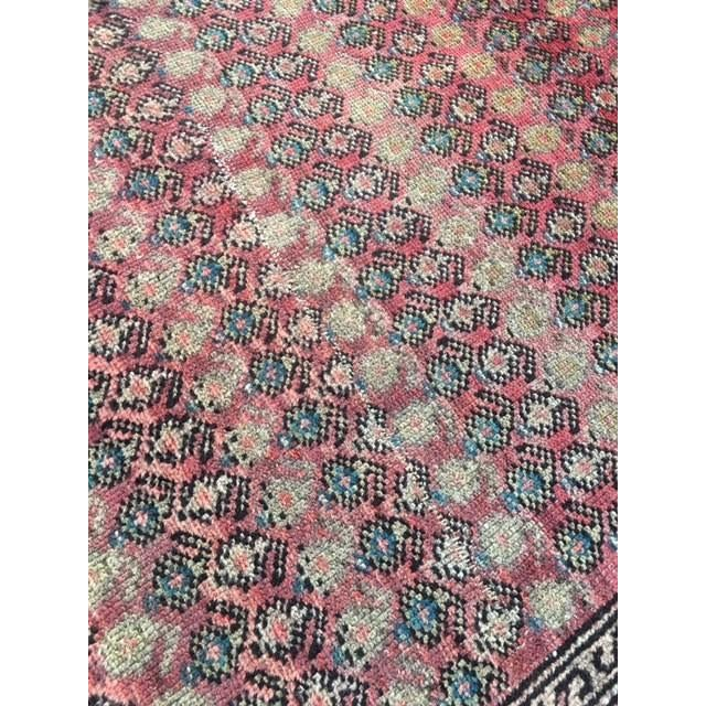 "Antique Hamadan Rug - 3'4"" X 6'6"" - Image 8 of 9"
