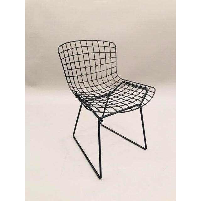 Children's Chair, Harry Bertoia design. Painted Steel. Model number 425-2.