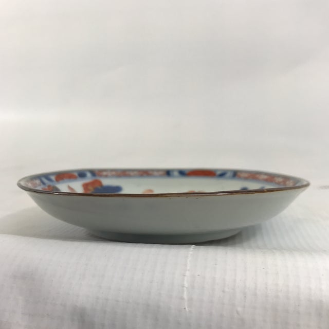 Japanese Small Imari Porcelain Dish For Sale - Image 3 of 7
