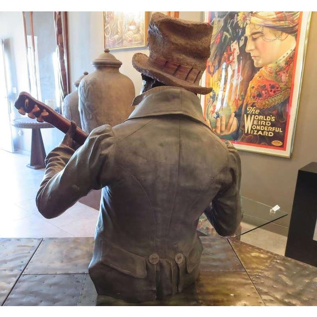Goldscheider Ceramic Minstrel With Banjo For Sale In Los Angeles - Image 6 of 8