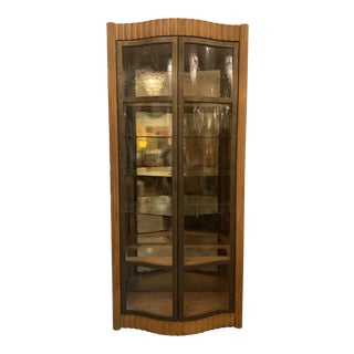 Century Furniture Bunching Display Cabinet For Sale