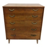Image of Vintage Mid Century Modern Dresser Chest For Sale