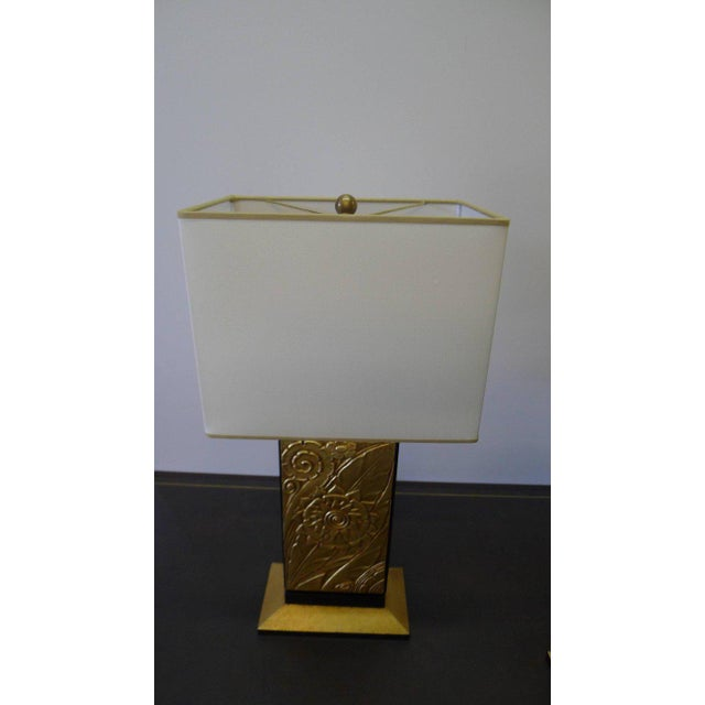 Paul Marra Art Deco Style Modern Table Lamp by Paul Marra For Sale - Image 4 of 11