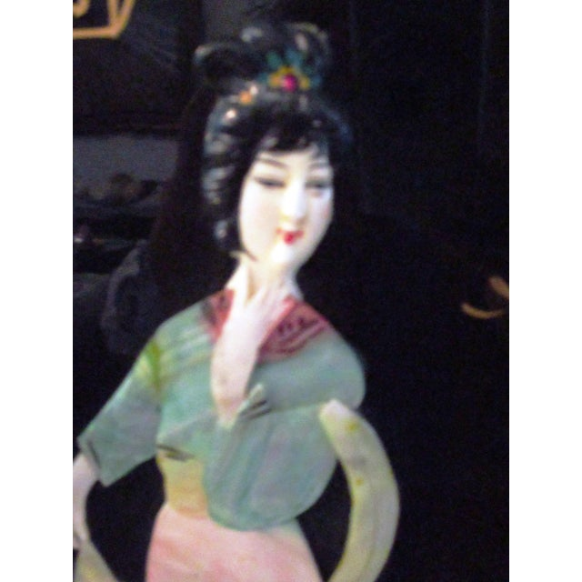 Asian Mid-Century Japanese Mother-Of-Pearl Panels - A Pair For Sale - Image 3 of 10