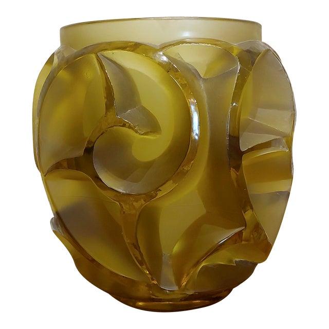 Renee Lalique No.973 Tourbillons Vase For Sale