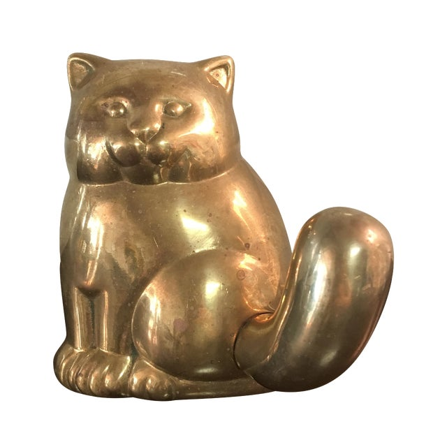 Brass Cat Hook - Image 1 of 4