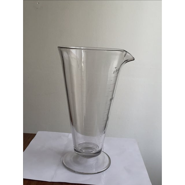 Vintage Lab Glass Vase - Image 6 of 6