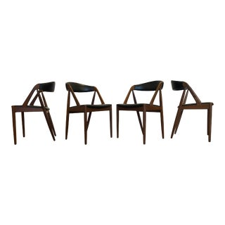 Kai Kristiansen Model 31 Teak Dining Chairs - Set of 4 For Sale
