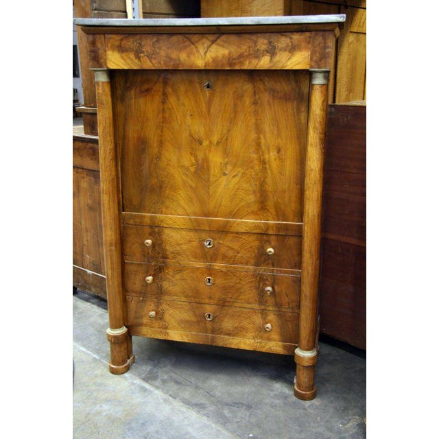 Traditional Empire Secretaire For Sale - Image 3 of 9