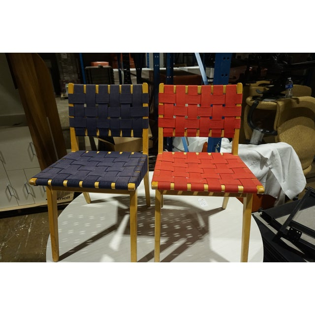 Knoll Risom Chairs - Set of 6 - Image 3 of 8