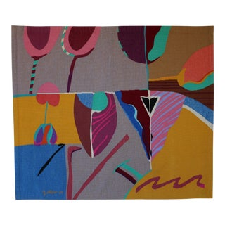 Contemporary Abstract Tapestry by Steve Zoller For Sale