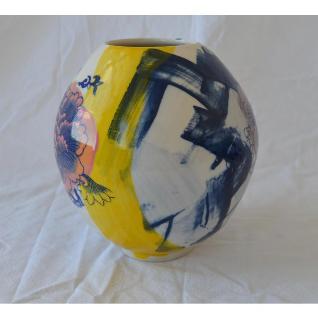 This porcelain vessel is a playful and modern interpretation of traditional the Korean Moon Jar. I have been applying...