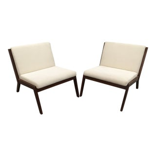 Justin Porcano for Bernhardt Design Lounge Chairs - A Pair